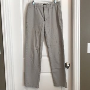 Banana Republic Stone straight Gavin Pant 30/32